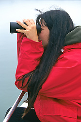 Daniela Maldini Feinholz Observing Sea Otters