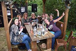 Latitude Festival 2017, Henham Park, Suffolk, UK. New for 2017, Alchemy gin & tonic bar sponsored by Schweppes - mixology class