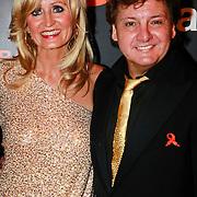 NLD/Noordwijk/20110625 - Orange Babies Gala 2011, Rene Froger en partner Natasja Kunst