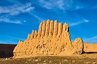 Ouzbekistan, region de Karakalpakstan, les citadelles du desert, Zhampyk Qala // Uzbekistan, Karakalpakstan province, desert citadel, Zhampyk Kala