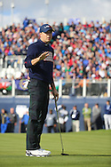 Jordan Speith (USA) during the Saturday morning Fourballs of the 2014 Ryder Cup at Gleneagles. The 40th Ryder Cup is being played over the PGA Centenary Course at The Gleneagles Hotel, Perthshire from 26th to 28th September 2014.: Picture Kenneth E.Dennis, www.golffile.ie: \27/09/2014\