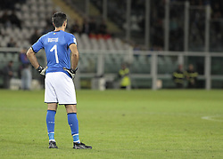 October 6, 2017 - Turin, Italy - Gianluigi Buffon during the match to qualify for the Football World Cup 2018  between Italia v Macedonia, in Turin, on October 24, 2017. (Credit Image: © Loris Roselli/NurPhoto via ZUMA Press)