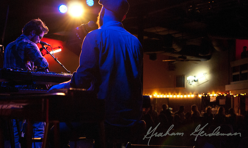 Sean McConnell performing for the 4th Annual Ride for Reading Benefit Concert at 3rd and Lindsley in Nashville, TN.