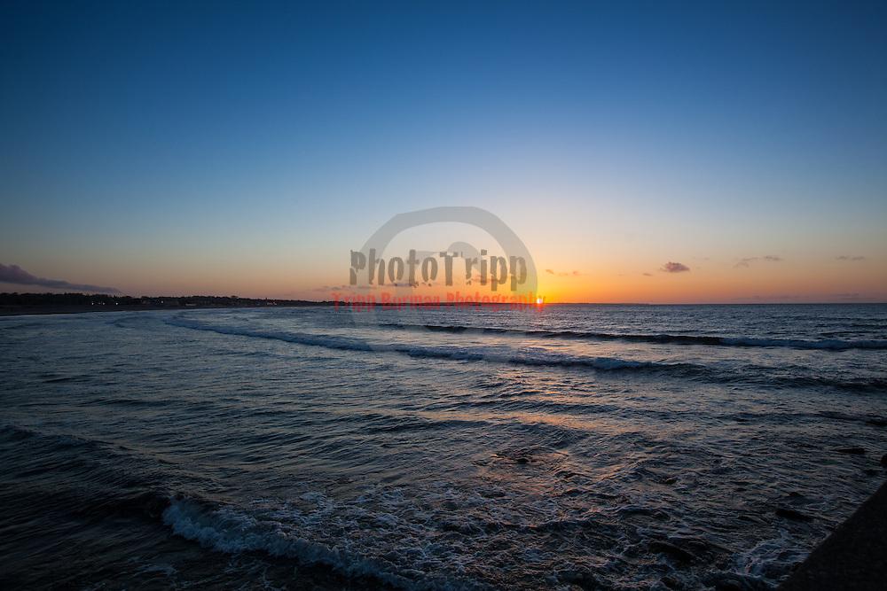 Today's  sunrise  at Narragansett Town Beach, Narragansett, RI,  May  3, 2013.