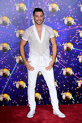 Giovanni Pernice arriving at the red carpet launch of Strictly Come Dancing 2019, held at BBC TV Centre in London, UK.
