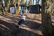 Calais, France, 27 feb 2015, Situation of the migrants in Calais, living in jungles.