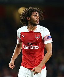 September 20, 2018 - London, England, United Kingdom - Arsenal's Mohamed Elneny.during UAFA Europa League Group E between Arsenal and FC Vorskla Poltava at Emirates stadium , London, England on 20 Sept 2018. (Credit Image: © Action Foto Sport/NurPhoto/ZUMA Press)