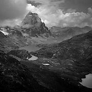 A general view from Trapecio Punta mountain pass at the Cordillera Huayhuash trekking circuit, Peru, September 2, 2018. REUTERS/Lisi Niesner