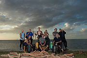 The Cast of Catching Hell, For The Weather Channel