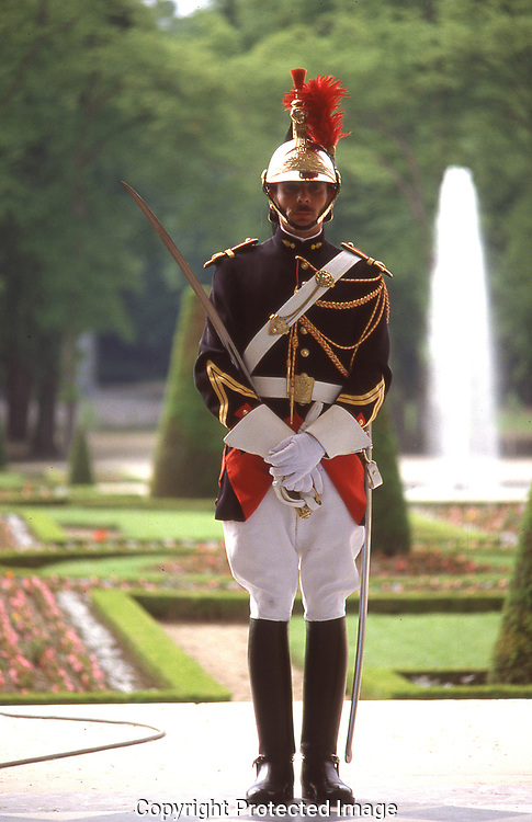 Honor guard  at Quirinale Palace in Rome Italy<br /><br />Photograph ny Dennis Brack. bb78