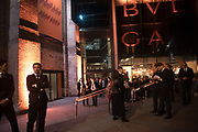 OUTSIDE THE ROUNDHOUSE, , Bulgari Serpenti Seduttori dinner, Roundhouse. London. 15 September 2019