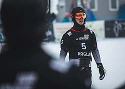 LOGINOV Dmitry during FIS alpine snowboard world cup 2019/20 on 18th of January on Rogla Slovenia<br /> Photo by Matic Ritonja / Sportida