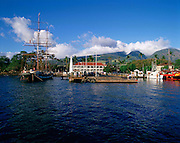 Carthiginian whaling ship, Lahaina, Maui, Hawaii, USA<br />