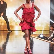 NLD/Amsterdam/20161025 - finale Holland Next Top model 2016, model Colette Kanza