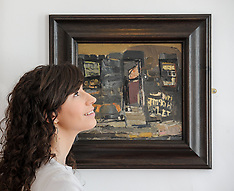 Rare Joan Eardley painting unveiled before sale, Glasgow 16 May 2018