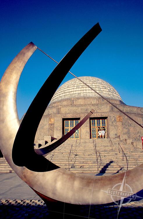 Sundial in front of Alder Planetarium, Chicago IL