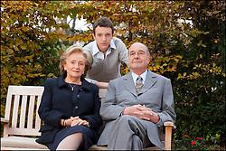 September 21, 2016 - Paris, ILE DE FRANCE, France - EXCLUSIF-- JACQUES, BERNADETTE CHIRAC & LEUR PETIT FILS MARTIN CHIRAC - MICHEL DRUCKER RASSEMBLE LA FAMILLE CHIRAC AU PAVILLON GABRIEL DANS LE CADRE DE L'EMISSION ' VIVEMENT DIMANCHE ' OU L'ANCIEN CHEF DE L'ETAT EST INVITE EN EXCLUSIVITE. L'EMISSION SERA DIFFUSE LE 29 NOVEMBRE 2009  (Credit Image: © Visual via ZUMA Press)