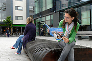 UK. Brighton. The Jubilee Library in Brighton..Photo©Steve Forrest/Workers Photos