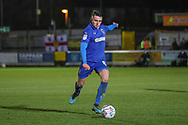 AFC Wimbledon midfielder Anthony Hartigan (8) about to shoot during the EFL Sky Bet League 1 match between AFC Wimbledon and Burton Albion at the Cherry Red Records Stadium, Kingston, England on 28 January 2020.