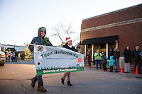 Laconia downtown holiday parade and tree lighting at Veteran's Square.    Karen Bobotas for the Laconia Daily Sun