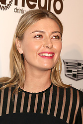February 24, 2019 - West Hollywood, CA, USA - LOS ANGELES - FEB 24:  Maria Sharapova at the Elton John Oscar Viewing Party on the West Hollywood Park on February 24, 2019 in West Hollywood, CA (Credit Image: © Kay Blake/ZUMA Wire)