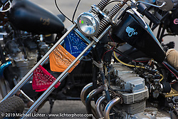 Ride-In bike show Saturday afternoon at the Smokeout. Rockingham, NC. USA. June 20, 2015.  Photography ©2015 Michael Lichter.