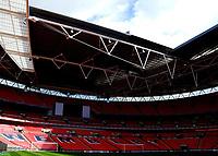 Photo: Alan Crowhurst.<br />Photoshoot of the new Wembley Stadium. 21/03/2007.<br />Wembley Stadium.