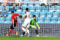 Fotball , 31. Mai 2014, Privatlandskamp <br /> Norge - Russland <br /> 1-1 går forbi Russlands keeper Igor Akinfeev <br /> Foto: Sjur Stølen , Digitalsport