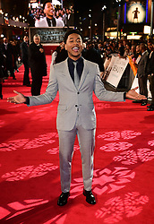 Jacob Latimore attending the European premiere of Collateral Beauty, held at the Vue Leicester Square, London.