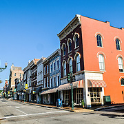 E Beverley Street downtown in Staunton