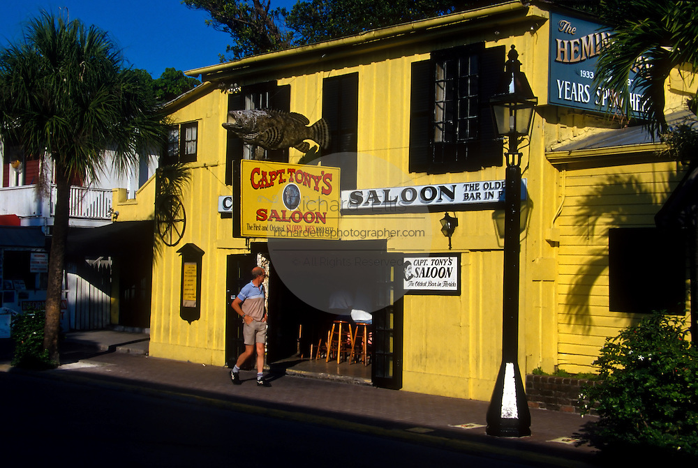 Captain Tony's Saloon and  bar in Key West, Florida.