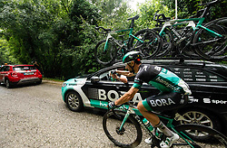 Oscar Gatto (ITA) Bora - Hansgrohe during 4th Stage of 26th Tour of Slovenia 2019 cycling race between Nova Gorica and Ajdovscina (153,9 km), on June 22, 2019 in Slovenia. Photo by Vid Ponikvar / Sportida