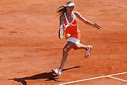Roland Garros. Paris, France. May 29th 2007..Nicole Vaidisova against Emmanuelle Gagliardi.