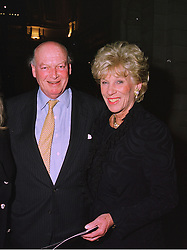 LORD & LADY HAMBRO at a party in London on 25th November 1997.<br /> MDR 65 2ORO