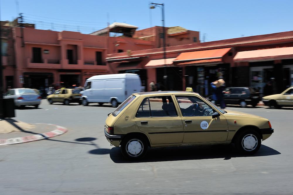 Taxi in Marrakesh