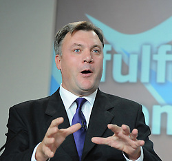 Labour Press Conference <br /> at Labour Press HQ, London, Great Britain <br /> 13th October 2011<br /> <br /> <br /> The Right Honourable<br /> Ed Balls <br /> MP<br /> Shadow Chancellor of the Exchequer<br /> Member of Parliament<br /> for Morley and Outwood<br /> <br /> Photograph by Elliott Franks