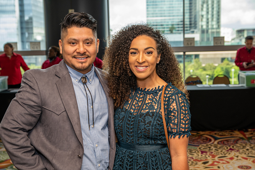 The Houston Independent School District crowned the district's top elementary and secondary teachers of the year during the annual, western-themed Educators of the Year banquet on Friday, which honors teaching excellence across the district.