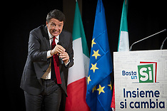 Matteo Renzi a Potenza 19.11.2016
