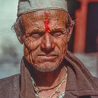 Temple Pujari, Muktinath, Nepal.