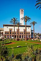 Maroc, Casablanca, place Mohammed V, le Wilaya, ex hotel de ville, 1937, Marius Boyer// Morocco, Casablanca, Mohammed V square, Wilaya (ex city hall), 1937, Marius Boyer architect
