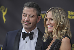 September 14, 2019, Los Angeles, California, United States of America: Jimmy Kimmel and Molly McNearney at the red carpet of the 2019 Creative Arts Emmy Awards on Saturday September 14, 2019 at the Microsoft Theater in Los Angeles, California. JAVIER ROJAS/PI (Credit Image: © Prensa Internacional via ZUMA Wire)