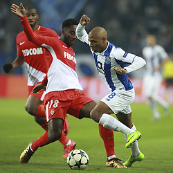 December 6, 2017 - Na - Porto, 06/12/2017 - Football Club of Porto received, this evening, AS Monaco FC in the match of the 6th Match of Group G, Champions League 2017/18, in Estádio do Dragão. Soualiho Meité; Brahimi  (Credit Image: © Atlantico Press via ZUMA Wire)