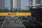 April 15-17, 2016: Chinese Grand Prix, Shanghai, Start of the Chinese Grand Prix 2016