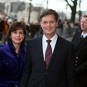 NLD/Amsterdam/20080201 - Verjaardagsfeest Koninging Beatrix en prinses Margriet,