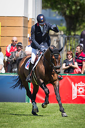 De Ponnat Aymeric (FRA) - Armitage Boy <br /> Furusiyya FEI Nations Cup presented by Longines<br /> Longines Jumping International La Baule 2014<br /> © Hippo Foto - Dirk Caremans