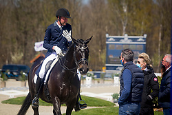 Van Gasselt Vincent, NED, Delacroix II<br /> CDI3* Opglabbeek<br /> © Hippo Foto - Sharon Vandeput<br /> 23/04/21