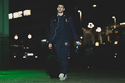 Josh Rogers of Bristol Flyers arrives at Plymouth Pavilions prior to kick off - Photo mandatory by-line: Ryan Hiscott/JMP - 28/12/2019 - BASKETBALL - Plymouth Pavilions - Plymouth, England - Plymouth Raiders v Bristol Flyers - British Basketball League Championship