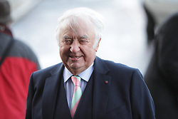 © Licensed to London News Pictures. 28/03/2018. Liverpool, UK. Jimmy Tarbuck arrives. The funeral of comedian and performer Sir Ken Dodd , who died on 11th March 2018 at the age of 90 . Photo credit: Joel Goodman/LNP