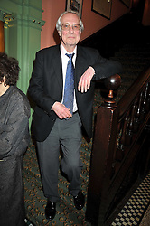 BARRY NORMAN at the 2009 Oldie of The Year Award lunch held at Simpson's in The Strand, London on 24th February 2009.