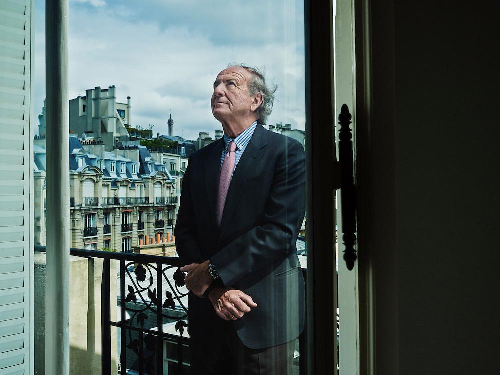 PARIS, FRANCE. JUNE 2013, 11. Tomek Ulatowski, former Berkeley student, at home. He now serves as a Co-Chairman of Supervisory Board at Multimedia Polska. Photo: Antoine Doyen